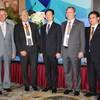 Anton Pietsch (BME), Horst Wiedmann (BME), Liu Jianjun (CFTC), Dr. Christoph Feldmann (BME), Caibo Han (CFTC)