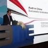 Dr. Dietmar Voggenreiter (President, Audi China
