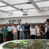 Group during an field trip to Kunshan. In the center with the black shirt: Bernd Reitmeier, Managing Director, Startup Factory Co. Ltd.