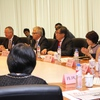 Round table with Vice Mayor Shanghai