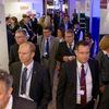 Hallway trought the exhibition. Photo: BME/Schwarz