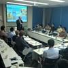 Lutz Frankholz (COO, TUV Rheinland Shanghai) during his presentation
