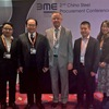 Anton Pietsch, General Manager of BME China with guests of the conference