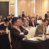 Many steel experts joined the conference in Shanghai