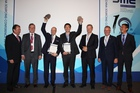 Winners of 2015 Smart Logistics Award together with the jury
