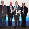 Dr. Christoph Feldmann (CEO, BME), Anton Pietsch (General Manager, BME China), Ralf Welter (Honoree for continuous support, Amazone-Werke), Tu Jianqing (Shanghai International Sourcing Promotion Center, ISPC)